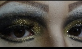 HOW TO: Easy Glitter Makeup Tutorial