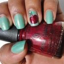 Mint Apple Nails