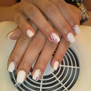 Nails with zircons