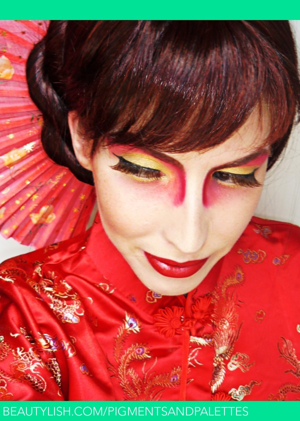 Traditional Chinese Makeup With A Twist Meredith J S