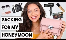 WHAT I'M PACKING FOR MY HONEYMOON! Beauty + Travel Essentials - TrinaDuhra