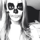 skeleton halloween makeup 💀