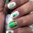 Kiss me - i'm irish - st. pattys day nail art decals