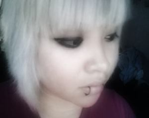 This is me with white hair.