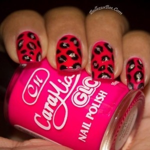 Inspired simply by my love for pink and leopard prints. http://www.facebook.com/BellezzaBee