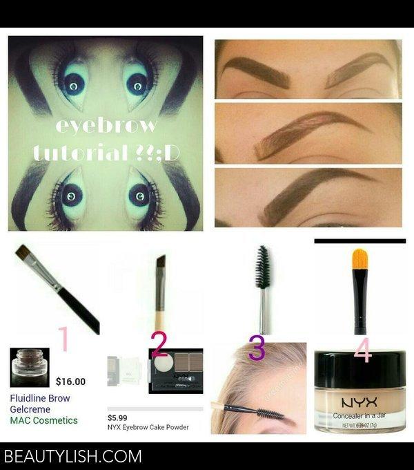 How I Do My Eyebrows Keyla Vs Photo Beautylish