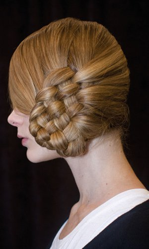 Chic Five Plait Bun for Wedding Hair Alternative!!!