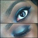 Blue Black Lashes