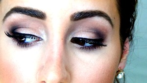 """This picture is from my """"daytime smokey eye"""" youtube video in which I created a tutorial of how to create this look."""