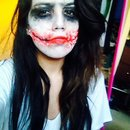 Joker makeup fun!