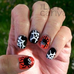 http://www.thelittlecanvas.com/2013/10/spider-webs-nail-art-tutorial.html