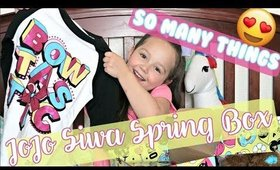JOJO SIWA SPRING BOX - Unboxing with Marin | Briddy Nicole