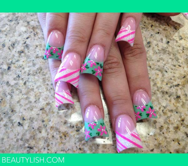 Spring Nails. | Nika B.\'s Photo | Beautylish