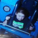 Me on the screamer at California adventure park in disneyland