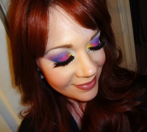 Look created using the Coastal Scents 252 Ultimate Palette.