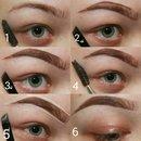 quick eyebrow pictorial