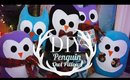 DIY SUPER CUTE Penguin & Owl Pillows | Easy Gift Ideas | ANNEORSHINE