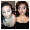 Makeup I did ,