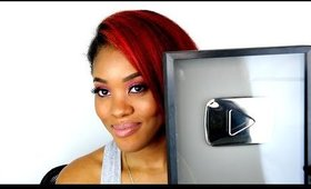 100,000 Subscribers + YouTube Silver Play Button + IG Q&A !