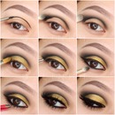 Pictorial | Gold cut crease