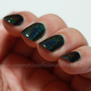 Dark Blackened Green Holo