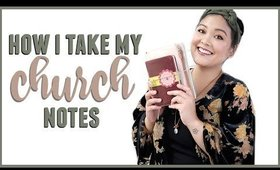 How I Take My Church Notes   JaaackJack