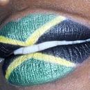 Jamaican Flag lips
