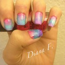 ombre nail attempt