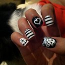 Hearts, Stripes, And Skulls!
