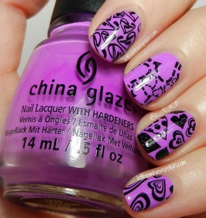for full details: http://www.letthemhavepolish.com/2013/09/31dc2013-day-6-i-heart-purple.html
