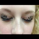 Cheetah print eyelids