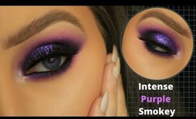 PURPLE SMOKEY EYE TUTORIAL | EIMEAR MCELHERON