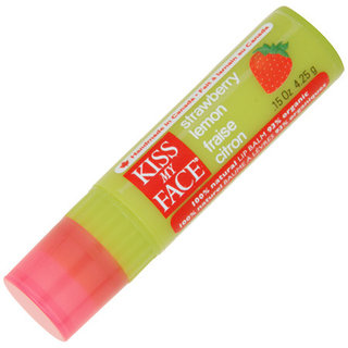 Kiss My Face Strawberry Lemon Lip Balm - Non SPF