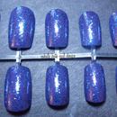 Purple And Blue Glitter