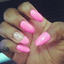 My Fav color on my nails today!