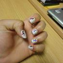 I try with my nails!! haha