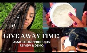 How I Maintain & Refresh My Protective Style Via Amalise Products | Give Away