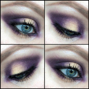 Here's a smokey eye I created today using eyeshadows from Inglot's Freedom System.