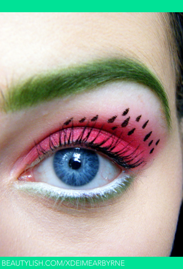 Watermelon Eye Makeup Eimear B S Xdeimearbyrne
