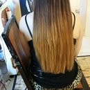 Ombre Black To Brown