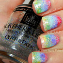 31 Day Challenge Glittery Nails