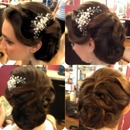 Vintage Style Bridal Updo
