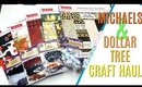 Michaels and Dollar Tree Craft Haul, Dollar Tree Halloween Craft Haul, Michaels Fall Craft Haul