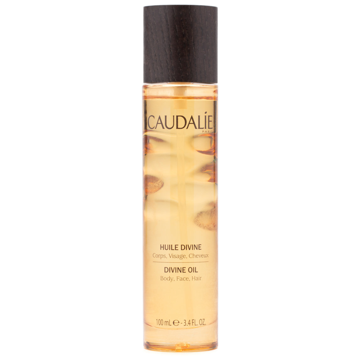 Caudalie Divine Oil 100 ml product swatch.
