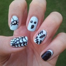 Halloween Nails # 1