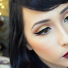 Glamorously Gold Holiday Makeup