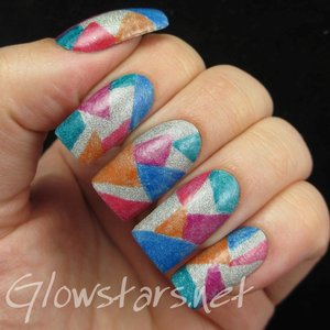Read the blog post at http://glowstars.net/lacquer-obsession/2015/05/the-digit-al-dozen-does-geometric-glitter-and-jelly/