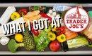 WHAT I GOT AT TRADER JOES | HUGE HEALTHY GROCERY FOOD HAUL | SCCASTANEDA
