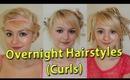 3 Overnight Hairstyles (Heatless Curls) REUPLOADED
