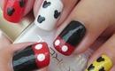 Nail Art - Mickey Mouse Nails - Decoracion de Uñas